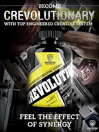 Crevolution Magnum Caps - Swedish Supplements 150 kaps.