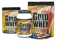 Delicious Gold Whey Protein 80 % - Weider 2000 g sáčok Raspberry+Yoghurt