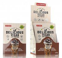 Delicious Vegan 60 % Protein - Nutrend  450 g Chocolate+Hazelnut