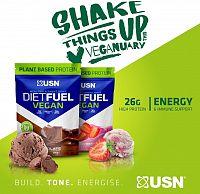 Diet Fuel Vegan - USN 880 g Vanilla