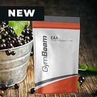 EAA - GymBeam 250 g Blackcurrant