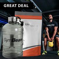 EAA - GymBeam 500 g Green Apple