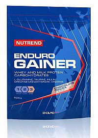 Enduro Gainer od Nutrend 520 g Čokoláda+Kakao