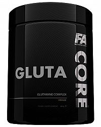 Gluta Core - Fitness Authority 400 g Pomaranč
