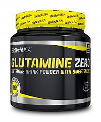 Glutamine Zero - Biotech USA 600 g Modré hrozno