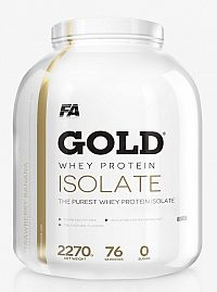Gold Whey Isolate - Fitness Authority 2270 g Jahoda