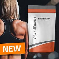 Hemp (Konopný) Protein - GymBeam 1000 g Neutral