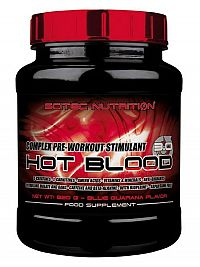 Hot Blood 3.0 - Scitec Nutrition 300 g Pomaranč maracuja