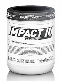 Impact N.O. Booster - Sizeandsymmetry  400 g Sea Buckthorn