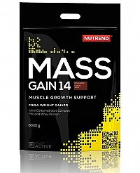 Mass Gain 14 od Nutrend 6000 g Vanilka