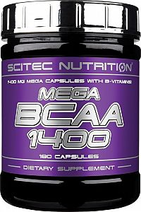Mega BCAA 1400 - Scitec Nutrition 120 tbl.
