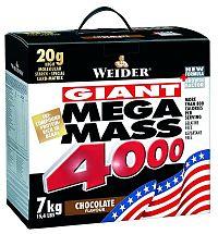 Mega Mass 4000 - Weider 3,0 kg Jahoda