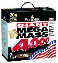 Mega Mass 4000 - Weider 7,0 kg Vanilka