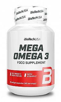 Mega Omega 3 - Biotech USA 90 kaps.