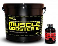 Muscle Booster + BEEF Amino Zadarmo od Best Nutrition 7,0 kg + 250 tbl. Butter Cookies