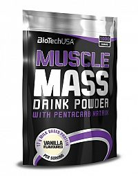 Muscle Mass od Biotech USA 1000 g sáčok Jahoda