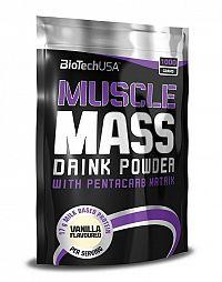 Muscle Mass od Biotech USA 1000 g sáčok Vanilka