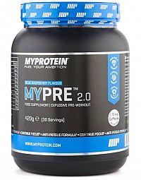 MYPRE 2.0 - MyProtein  420 g Blue Raspberry