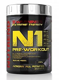 N1 Pre-Workout od Nutrend 510 g Blue Raspberry