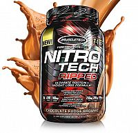 Nitro Tech Ripped - Muscletech 1810 g Chocolate Fudge Brownie