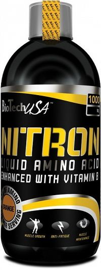 Nitron Liquid Amino od Biotech USA 1000 ml Pomaranč