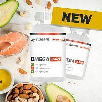 Omega 3-6-9 - GymBeam 240 softgels