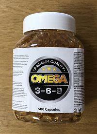 Omega 3-6-9 - Still Mass 500 kaps.