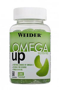 Omega 3 UP Gummies - Weider 50 gummies Lime