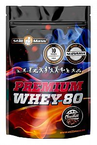 Premium Whey 80 - Still Mass  1000 g White Chocolate Strawberry