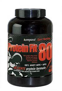 Protein Fit 80 - Kompava 2000 g Jahoda