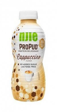 Protein Milkshake - Njie ProPud  330 ml. White Chocolate Raspberry