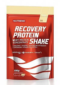 Recovery Protein Shake - Nutrend 500 g Vanilka