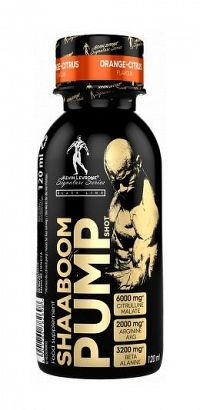 Shaaboom Pump Shot - Kevin Levrone 120 ml. Orange Citrus