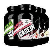 Slow Casein - Swedish Supplements 900 g Cookies+Cream