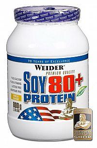 Soy 80+ Protein - Weider 800 g Čokoláda