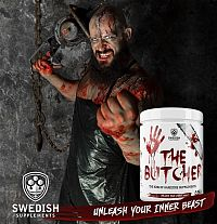The Butcher - Swedish Supplements 525 g Black Razz