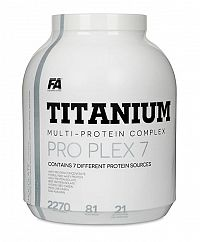 Titanium Pro Plex 7 od Fitness Authority 2270 g Vanilka