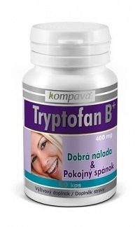 Tryptofan B+ - Kompava 60 kaps