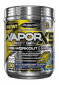 Vapor X5 Next Gen - Muscletech 228 g Fruit Punch Blast