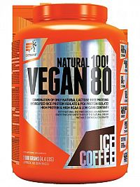 Vegan 80 od Extrifit 2000 g Ice Coffe