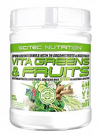 Vita Greens&Fruits with STEVIA od Scitec Nutrition 360 g Apple