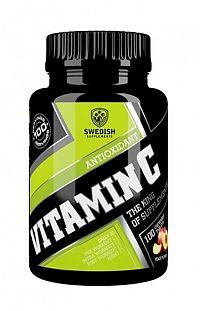 Vitamin C - Swedish Supplements 100 chewable tbl. Peach