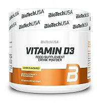 Vitamin D3 - Biotech USA 150 g Lemon