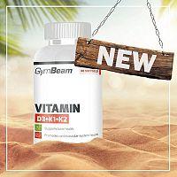 Vitamin D3+K1+K2 - GymBeam  120 kaps.