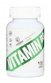 Vitamin D3 - Swedish Supplements 90 kaps.