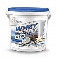 Whey Protein 80 od Grand Nutrition 3 x 1000 g Čoko+Kokos+Vanilka