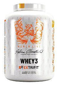 Whey3 - Extrifit 1000 g Mliečna čokoláda