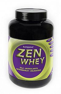 Zen Whey + Stévia - Kompava 500 g Jahoda-Malina