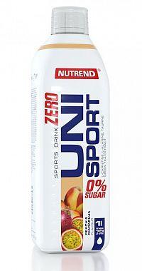 Zero UniSport (sirup na spaľovanie tukov) - Nutrend 1000 ml. Broskyňa+Maracuja