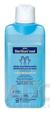 BODE Sterillium med dezinfekčný prípravok na ruky, 1x500 ml